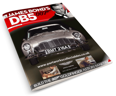 James Bond's DB5 magazine Issue 1 cover