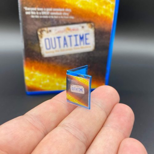 Miniature replica of OUTATIME Blu-ray DVD