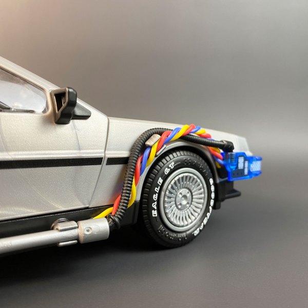 Flux Wires accessory for Playmobil DeLorean