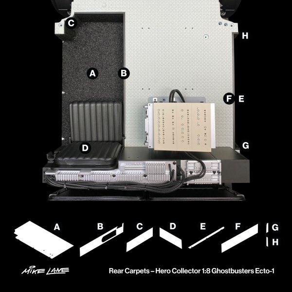 Ecto-1 Rear Carpets mod position guide