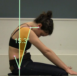 GYROTONIC Arch Curl - the curl portion