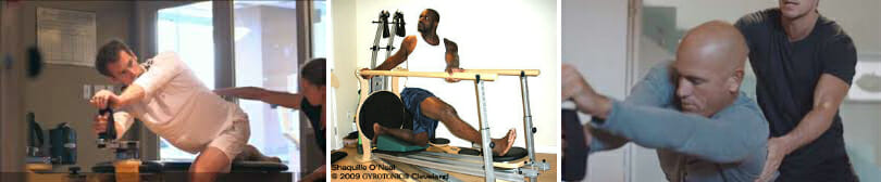 Gyrotonic training is excellent cross training for athletes.
