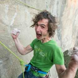 Adam Ondra is pure beast mode