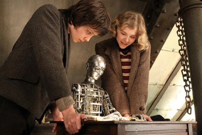 Asa Butterfield & Chloë Grace Moretz in HUGO