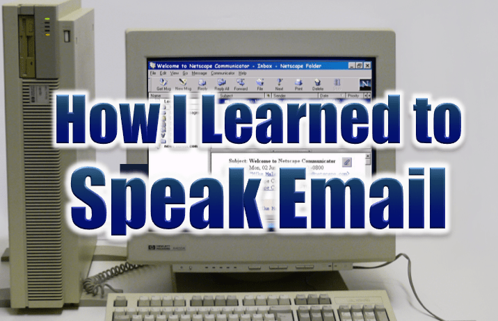 Typing isn't talking or is it Blog Post Mike Malatesat