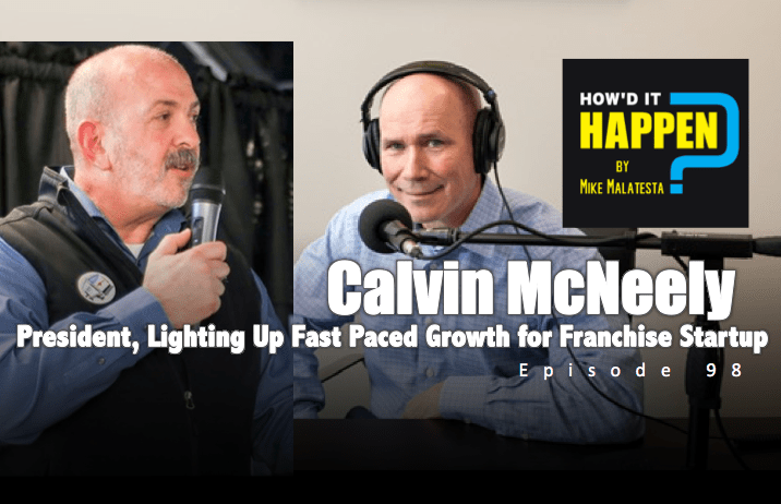 Calvin McNeely Runningboards Marketing Franchise Podcast