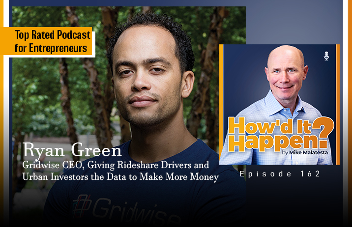 Ryan Green, CEO, Giving Rideshare Drivers and Urban Investors the Data to Make More Money - Episode 162