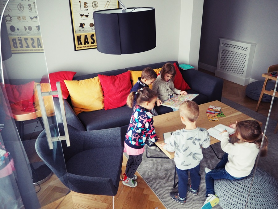Dzieciaki w trybie samoobsługowym