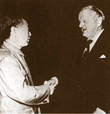 John Keswick (right)