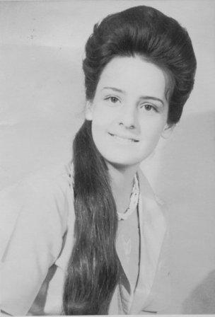 Isolda Echavarria in 1967 - after Finishing School