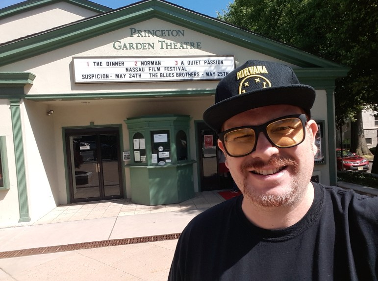 Mike at Princeton Garden Theater, May 21, 2017