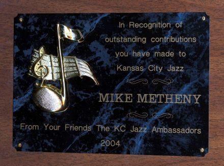 KC Jazz Ambassadors Award