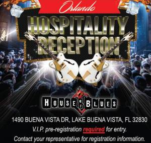 Orlando Hospitality Reception Invitation