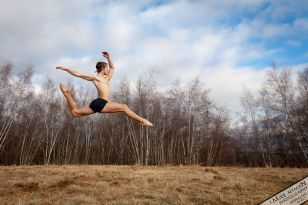 Nicholas Ranauro dancer leap