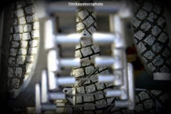 Cobbles through metal