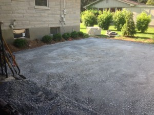 gravel base for paver patio