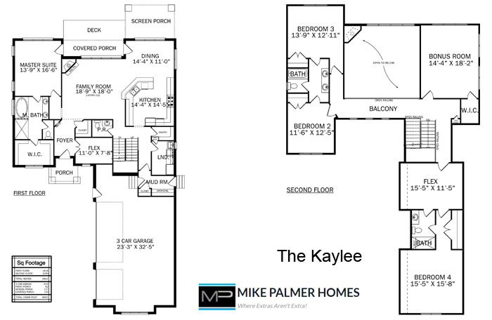 The Kaylee - Mike Palmer Homes