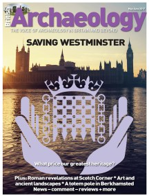 The new British Archaeology is out this week. The major focus is on Westminster, and the future of the palace, Barry and Pugin's great Victorian masterpiece.