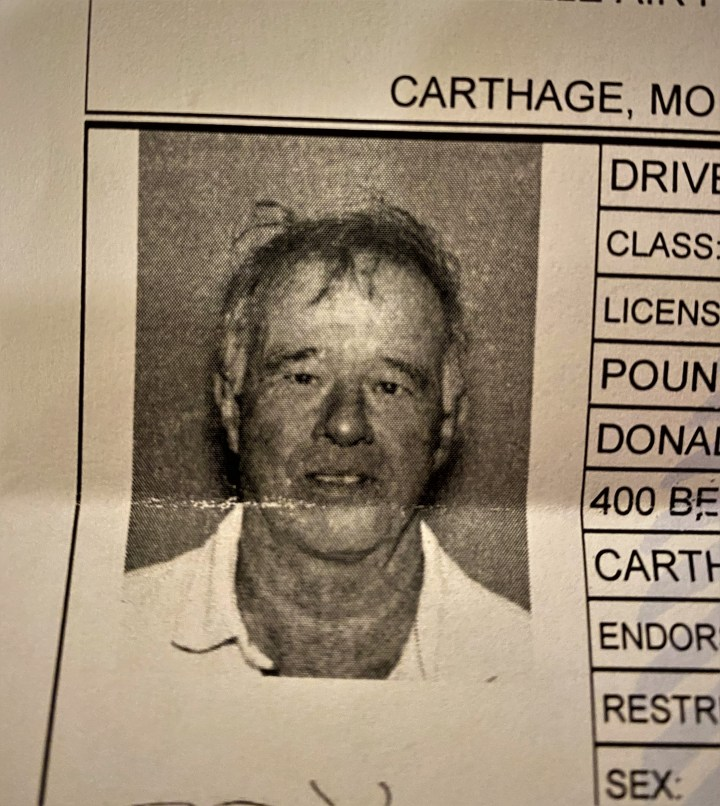 my horrible driver's license photo