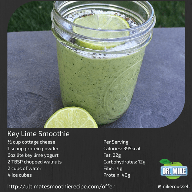 Instagram Key Lime Smoothie