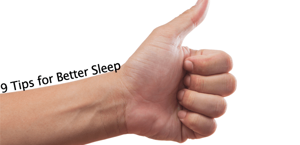 #SleeptoPerform Series: 9 Ways to Get Better Sleep