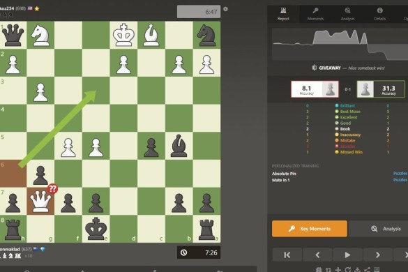 Chess Progress Day 2 | It only took one blunder!! got him Rank: 637