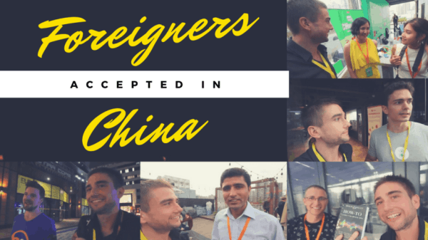 Foreigners Accepted in China