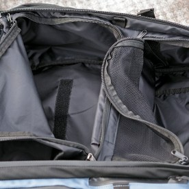Total bag access from the rear.