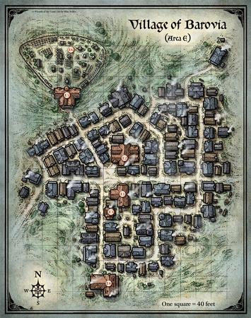 Mike Schley: Curse of Strahd &emdash; Curse of Strahd; Village of Barovia; (Digital DM & Player Versions) $1.75