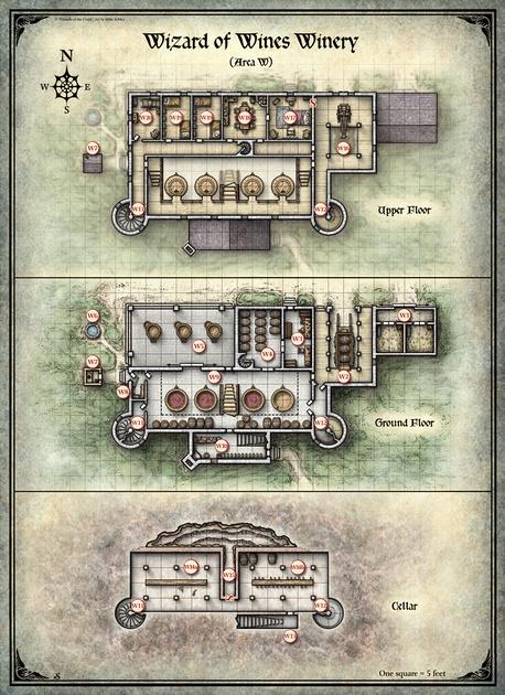 Mike Schley: Curse of Strahd &emdash; Curse of Strahd; Wizard of Winery (Digital DM & Player Versions)