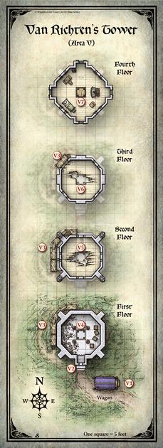 Mike Schley: Curse of Strahd &emdash; Curse of Strahd; Van Richten's Tower (Digital DM & Player Versions) $1.75