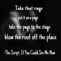 if you could see me now script 2