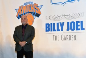 Billy Joel Holds Press Conference At Madison Square Garden