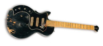 Pawn stars a smashed kiss guitar for 8000 mikes daily jukebox sciox Gallery