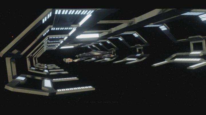 USS Kelly Marie In Space Dock