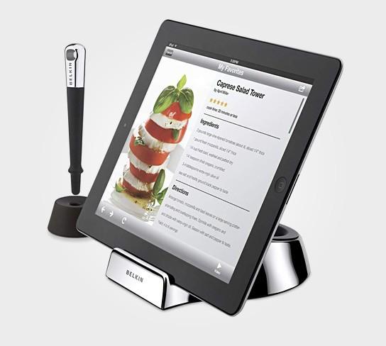 Belkin Chef Stand + Stylus 544x488px