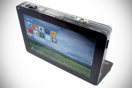 DukePad Raspberry Pi-powered Tablet