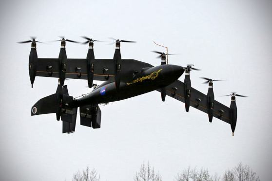 NASA Greased Lightning GL-10 VTOL Drone