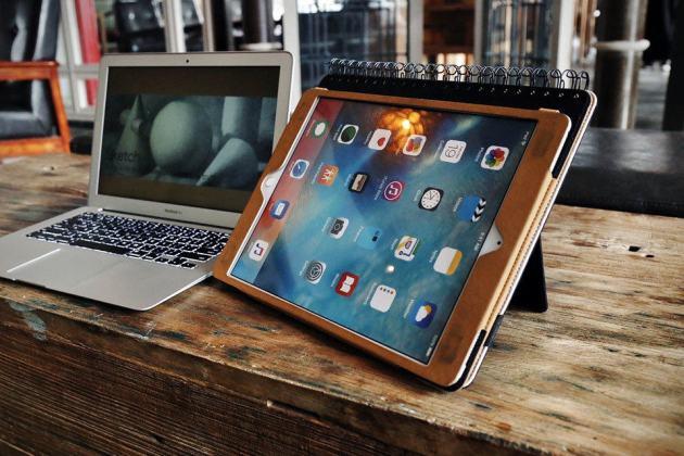 Wirebound Sketchbook iPad Pro Case by Longo