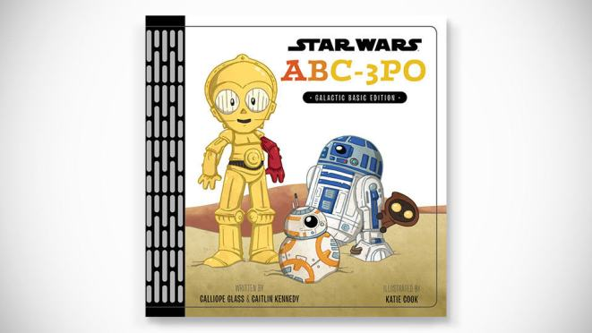 Star Wars ABC-3PO: Alphabet Book [Hardcover]