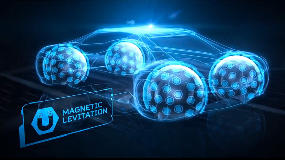 Goodyear Imagines Spherical Tires For Future Autonomous