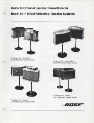 Bose 901 Series Iv Wiring Diagram  Somurich