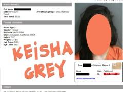 Keisha Grey Mugshot