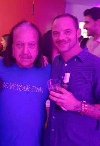 Cory James with Ron Jeremy