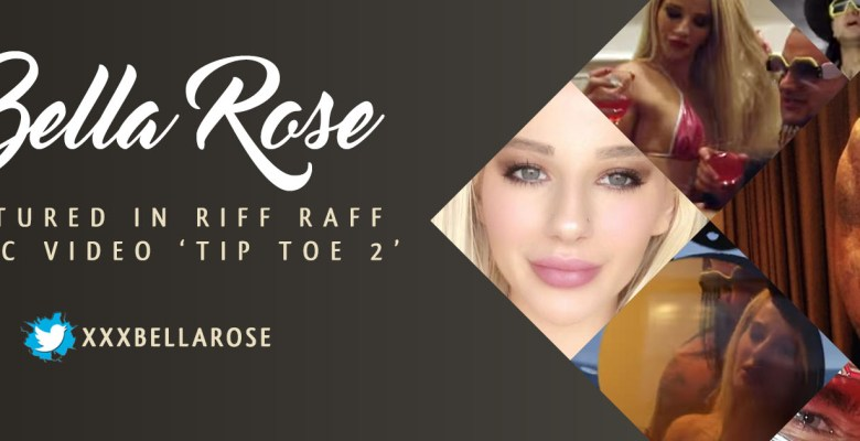 "Bella Rose Featured in new RiFF RAFF music video ""Tip Toe 2"""