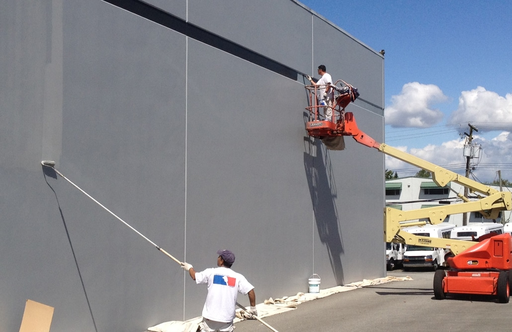 Mikes Improvement commercial paitning