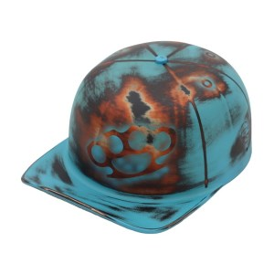 Blue Old School Doughboy Front