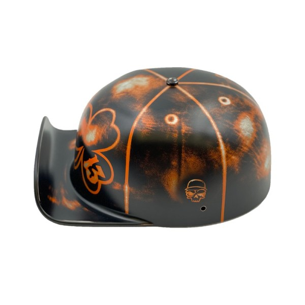Take your luck with you on every ride with a lucky 13 2.0 doughboy lid that will take your style to a whole new level. Motorcycle Gear   Motorcycle Riding   Motorcycle Helmet   Lucky Helmet   Designer Helmets   Riding Gear   Lucky Motorcycle Helmet #lucky13 #designerhelmet