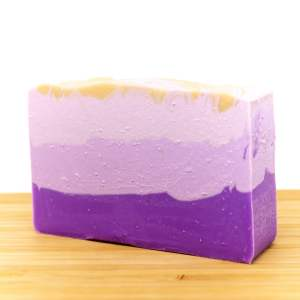 Layered Lavender Soap For sale