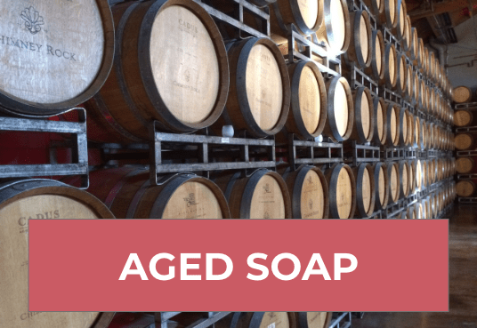 aged soap